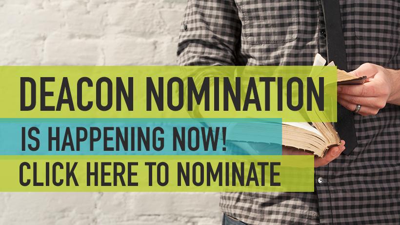 Deacon Nomination